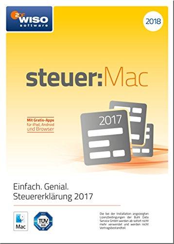 WISO steuer:Mac 2018 (für Steuerjahr 2017)|Frustfreie Verpackung (Lohnsteuer Rechner)