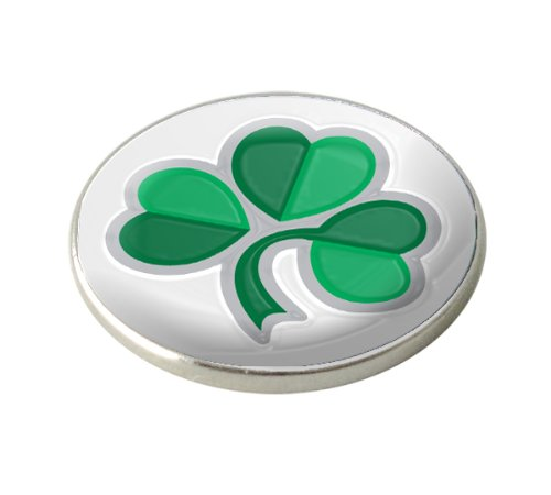 IRISH SHAMROCK GOLF BALL MARKER. IRELAND.