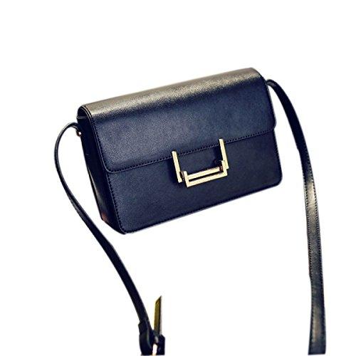 KYFW Womens Fashion Retro Kleine Quadratische Tasche Schulter Messenger Bag Stewardess Bag A