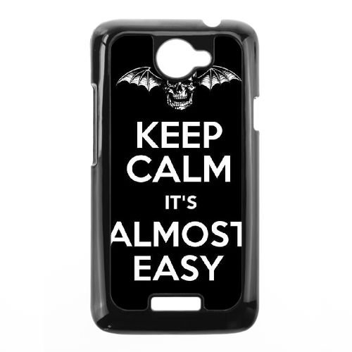 HTC One X Cell Phone Case Black Avenged Sevenfold - Access All Avenged Sevenfold