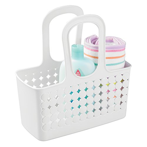 mdesign-baby-badezimmer-korb-organizer-dusche-und-bad-aufbewahrungsbox-farbe-weiss-mit-griff-fur-dus
