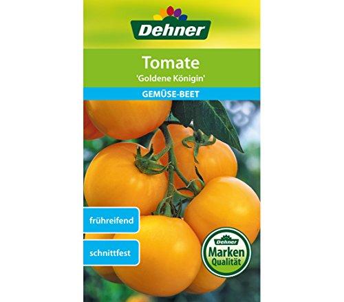 """Dehner Gemüse-Saatgut, Tomate """"Goldene Königin"""", 5er Pack (5 x 1 g)"""