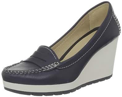 geox d dori s mokassins loafers damen blau bleu. Black Bedroom Furniture Sets. Home Design Ideas