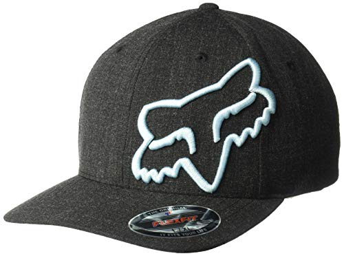 A-flex-fitted-caps (FOX Clouded Flexfit Kappe Schwarz/Blau L/XL)