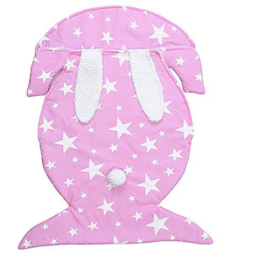 Anywow Neugeborenes Baby Kaninchen Schlaf Sack Winter Warm Säugling Baby Jungen Mädchen Bunny Ohren Fleece Futter Decke Swaddle Schlafsack Kleid