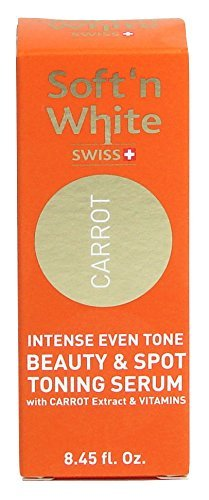 Soft'n White Carrot Intense Even Tone Beauty & Spot Toning Serum 30ml - ELYSEESTAR - With carrot extract & vitamins by Elysee Star