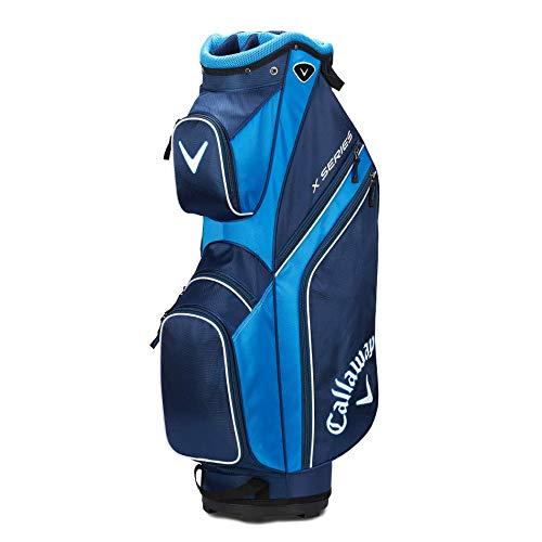 Callaway 2019 X-Series Sac de Golf, Homme - Multicolore(Marine / Bleu Royal / Blanc) - taille unique