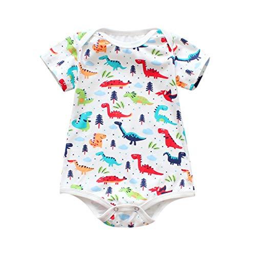 Bodysuit Baby Girl Strampler Overall Kleidung Regenbogen Druck Pwtchenty Spielanzug Jumpsuit Baby Mädchen Set Strampelanzug (Regenbogen Monster Kostüme)