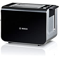 Bosch TAT8613 Grille-Pain 860 W Noir / Inox