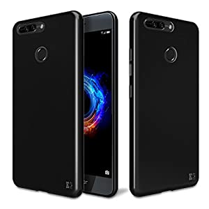 KingShark UltraSlim Transparent Hülle für Huawei Honor 8 Pro Silikon Schutzhülle Case Cover