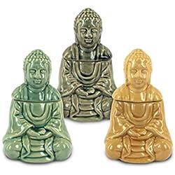 Quemadores de Incienso Buda 3 colores - Dorado