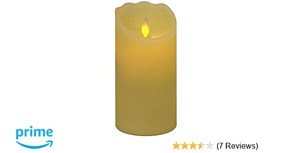 elfenbein 068-72 Star LED-WachskerzeTwinkle Flamemit beweglicher Flamme batterie betrieben Sichtkarton 20 x 8 cm