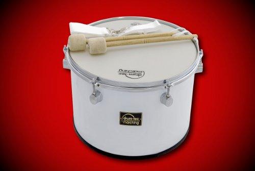 Marching Tenor Drum / Fan-Trommel + Zubehör Größe: 14