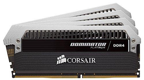 Corsair Dominator Platinum DDR4 Hochleistungs-Arbeitsspeicher Kit (mit Dominator Airflow RGB LED Kühler, 32GB (4x8GB) 3866 MHz C18 XMP 2.0)