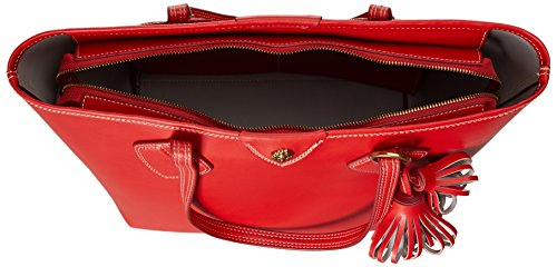 Anne Klein - Ella borsa con zip donna Fire Red - Dolphin/Fire Red