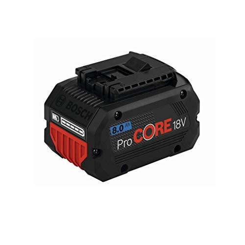 Bosch Professional 1600A016GK ProCORE18V 8.0Ah System Akku, 18 V, blau
