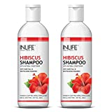 INLIFE Hibiscus Shampoo for Hair Growth Men and Women Soap Paraben Free