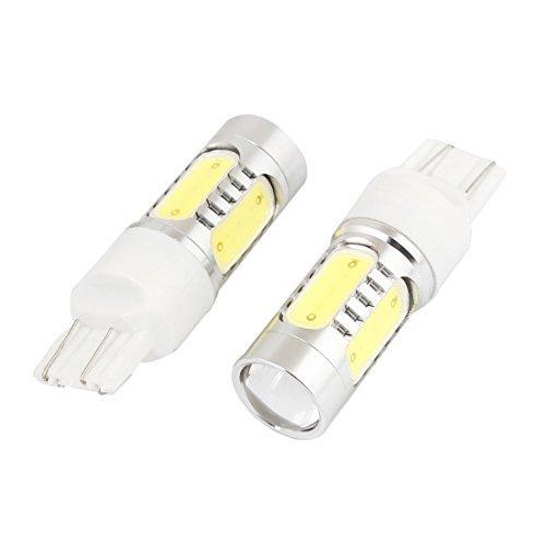 2pcs T20Bianco SMD 5LED Lente Indicatore di direzione di Sostegno della Luce della Lampada 7.5W