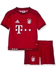 adidas Kinder Bekleidungsset FC Bayern München Mini-Heimausrüstung