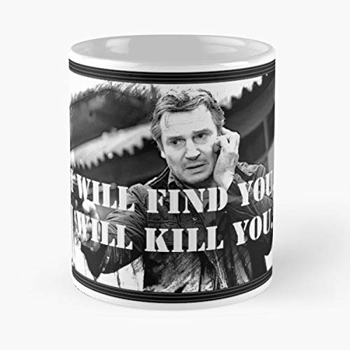 Neeson Taken Movie Star - Best Gift Mugs Wars Actor Irish Film Action Drama Oscar Award Hollywood Gun Hostage Thriller Grey Gray Zeus Best Personalized Gifts (Hero Award)