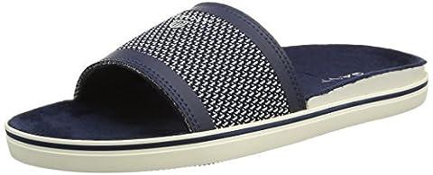 Gant - Sorrento - Sandales Plateforme - homme - Blue (navy Blue/cream) - 44 (Taille fabricant: 10)
