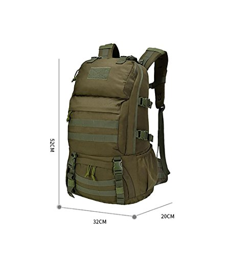 HWLXBB Outdoor Bergsteigen Tasche Männer und Frauen 30L Wasserdichte Mehrzweck-Bergsteigen Tasche Wandern Camping Bergsteigen Freizeit Rucksack Rucksack 3*