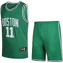 BUY-TO Camiseta NBA Celtics Owen Shorts Traje de Uniforme de Baloncesto número 11,