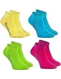Rainbow Socks - Niños y Niñas - Calcetines Cortos de Algodón