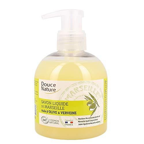 Douce Nature - Savon Liquide De Marseille Huile D'Olive Et Verveine 300 Ml - Lot De 3 - Vendu Par Lot - Livraison Gratuite En France