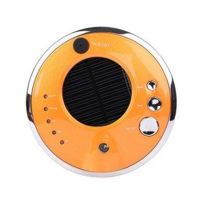 VOSMEP Auto Ambientadores Purificador de Aire Casa Oficina Anión Humidificador Aroma Difusor Solar Quitar el Polvo, Bacteriana, Benceno y otras Sustancias Nocivas en el Aire Amarillo CA8