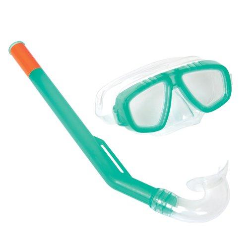 Bestway Tauchset Tauch Schnorchel Set Taucherbrille Tauchermaske für Kinder 3-6