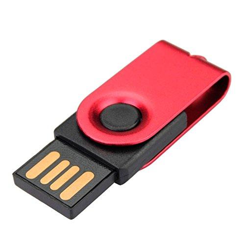Bluestercool 4GB Rot Flash Drive Speicher-Daumen-Stick-Speicher Feder-Scheibe Digitale U Scheibe USB2.0 -