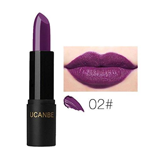 8 Colores Profesional Mate Pintalabios de Maquillaje Larga Duracion para Niñas por ESAILQ B