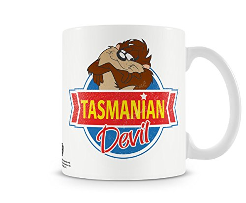 Looney Tunes Offizielles Lizenzprodukt Tasmanian Devil Kaffeetasse, Kaffeebecher