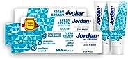 Jordan Fresh Breath Toothpaste, 2 x 75 ml