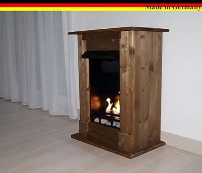 Gel + Ethanol Fireplace Madrid Deluxe - Choose from 9 colors (Oak)