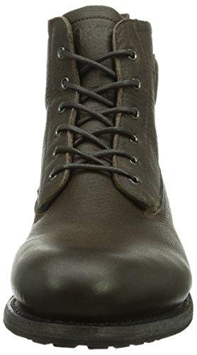 Blackstone Mid Lace Up Boot Fur, Bottines Chukka avec doublure intérieure chaude homme Gris - Grau (Gull)