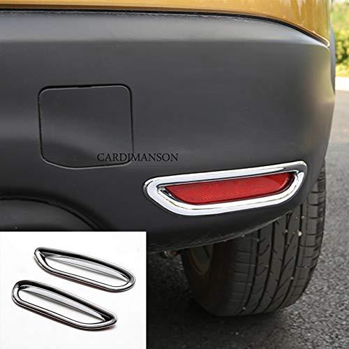 car sticker Fit For Qashqai J11 Reflector Fog Lamp Cover Trim Bezel Frame Styling Garnish Bezel Frame Cover