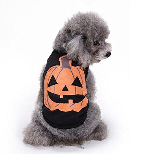 WiseGoods Haustierkostüm Kürbis-Kostüm für Hunde und Katzen, Lila