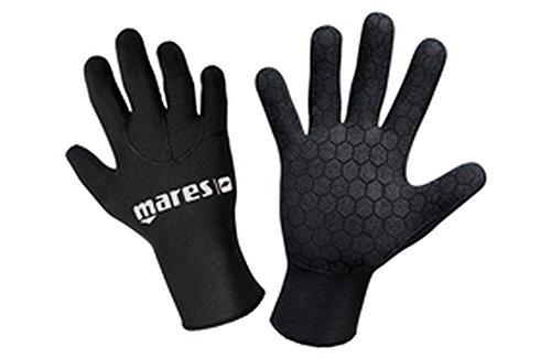 Mares Erwachsene Taucherhandschuhe Gloves 30, Schwarz, XL, 422758