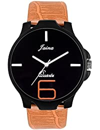 Jainx Black Dial Analog Watch For Men & Boys - JM296