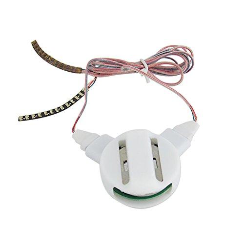 Anself Eyelashes Faux Cils LED Etanche à l'Eau Interactive Unisex Light Luminous Shining Charming Cils