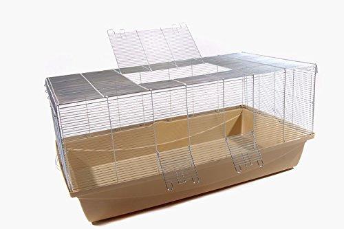 farbmaeuse kaefig Nagerkäfig für Ratte Maus Hamster Kleintier Paradies beige XXL 1m 6mm Gitterabstand