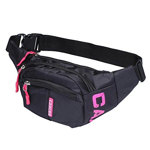 caacoo-cool-bum-waist-bag-3-zip-pockets-travel-hiking-outdoor-sport-bum-bag-holiday-money-hip-pouch-
