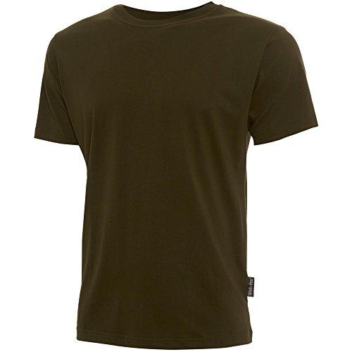 Mil-Com & Web-tex Herren T-Shirt Grün Grün (Sand-military Desert T-shirt)