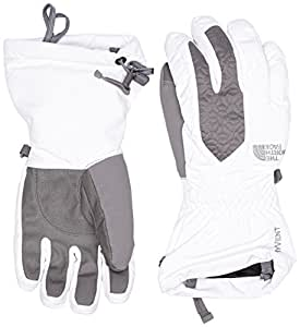 The North Face Women's Montana Glove - TNF White/Zinc Grey, Small