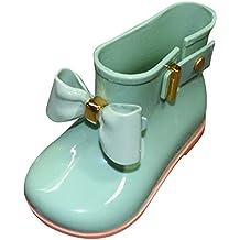 Niña Niños Botas de Agua Botas - hibote Nieve Zapatillas de Lluvia Martin Botas Invierno Impermeable Bota