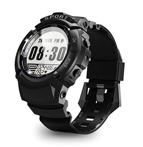 BZLine Mode Bluetooth Smartwatch | S816 Wasserdicht Intelligente Armbanduhr Fitness Tracker Sport Uhr mit Herzfrequenz Schrittzähler Blutdruckuhr für Android und IOS | Kinder Damen Herren