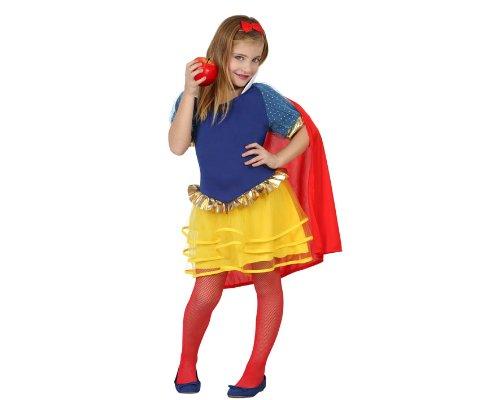 Atosa-23704 Disfraz Princesa de Cuento, Color amarillo, 5 a 6 años (23704