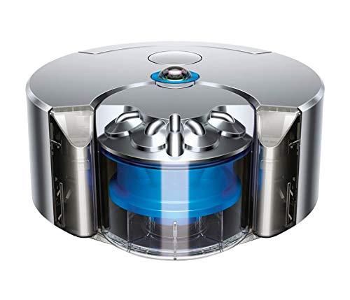Dyson 360 Eye Staubsauger-Roboter, Nickel/Blau, 64978-1